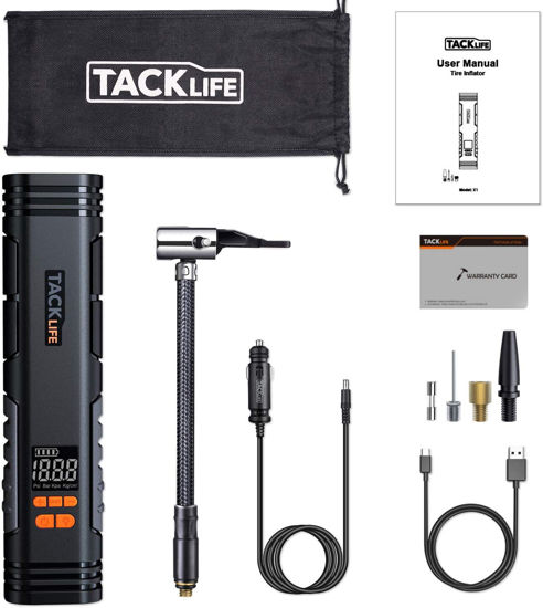 Picture of TackLife X1 Inflador Inalámbrico Recargable