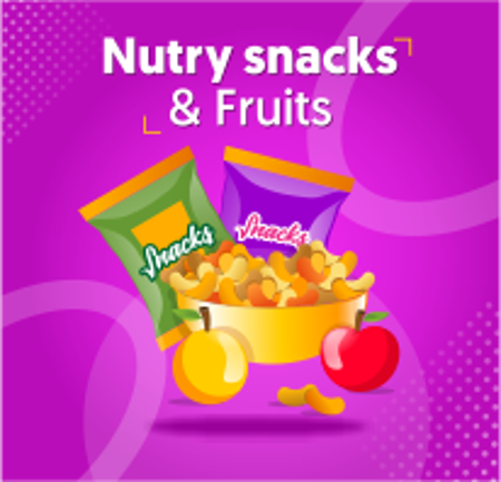 Picture for category Nutry snacks & Fruits